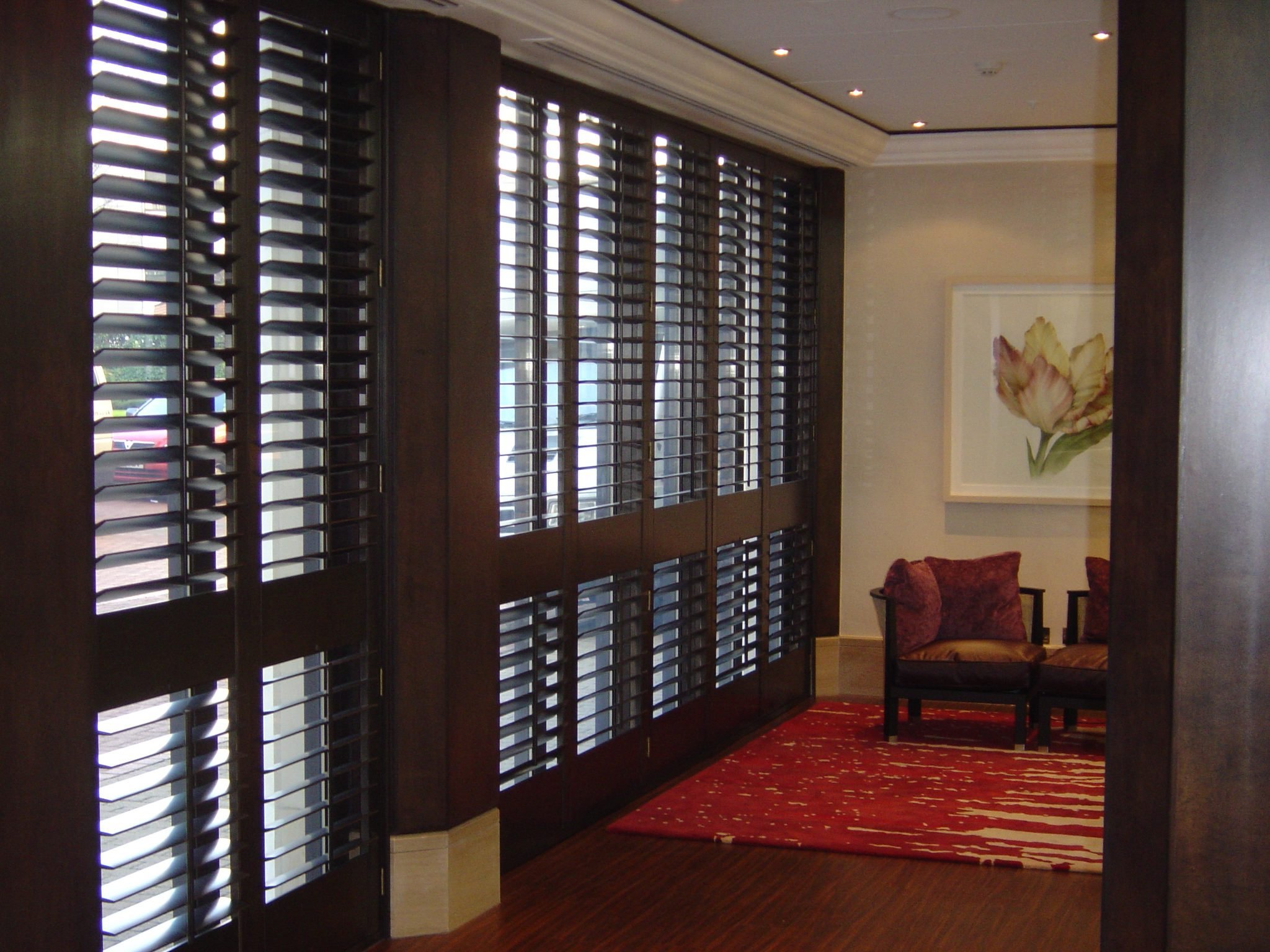 12 window shutters designed and fitted by eden house for 12 window shutters